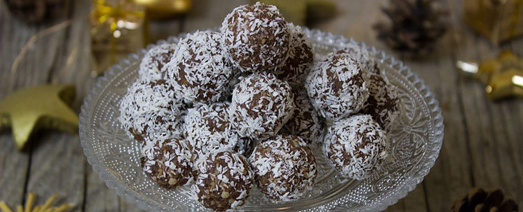 christmas finger food ideas rum balls