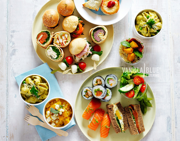 Great Office Lunch Party Ideas from www.vanillablue.com.au